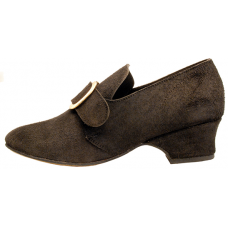 Connie Shoe Rough Black 10% off msrp