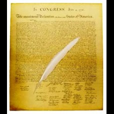 Quill and Declaration of Independence