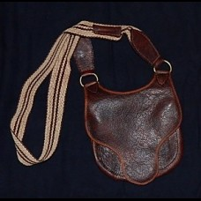 Bison Leather Longhunter's Bag