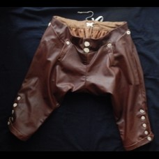Breeches 18th Century Style Leather Smooth Kit