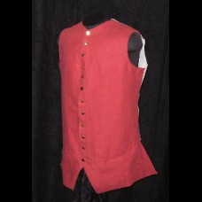 Waistcoat 1770's with or w/o Sleeves Kit