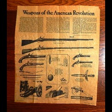Weapons of the American Revolution on Parchment